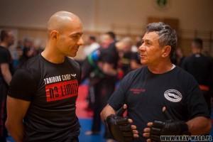 Haim Gidon ir Krzysztof Sawicki